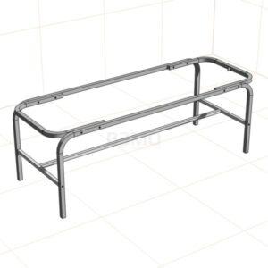 Каркас кушетка КВС-01 тип усиленный. Волгоградский завод медицинского оборудования