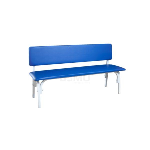 Банкетка БМВ-01С – двухместная, мягкая, со спинкой. Предназначена для сидения, ожидания посетителей в поликлиниках, больницах и других медицинских, лечебно-профилактических учреждениях.