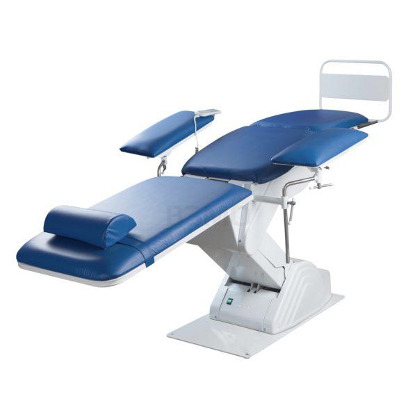Кресло донорское КСЭМ-05-01 в опущенном положении